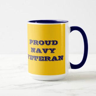 Vétéran fier de marine de tasse