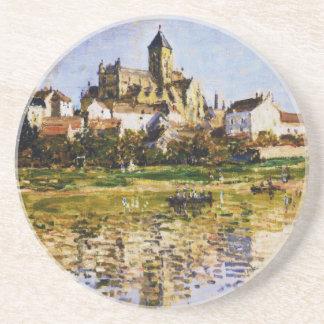 Vetheuil, l'église par Claude Monet Dessous De Verres