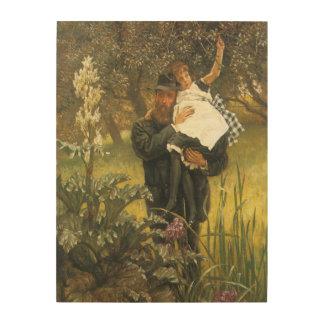 Veuf par Tissot, art victorien vintage de portrait