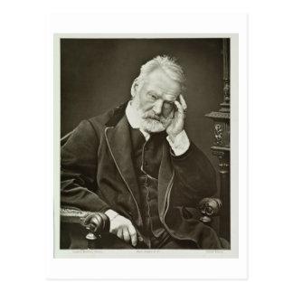 Victor Hugo (1802-85), de 'Galerie Contemporaine Carte Postale
