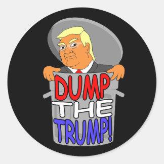 Videz les autocollants de Donald Trump