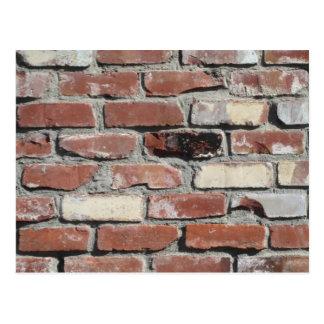Vieille De Mur De Briques Cartes Postales Originales