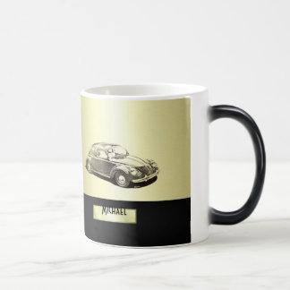 Vieil or chic de voiture mug magic