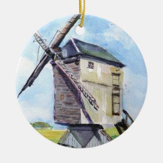 Vieil ornement de moulin à vent