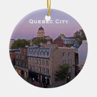 Vieil ornement de paysage urbain du Québec