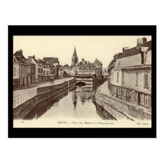 Vieille carte postale - Amiens, France