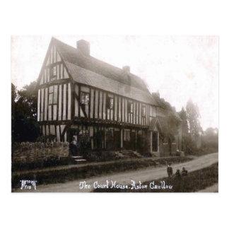 Vieille carte postale - Aston Cantlow, le
