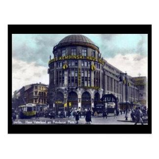 Vieille carte postale - Berlin, Potsdamer Platz