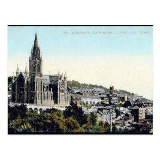 Vieille carte postale - Cobh, liège de Co, Irlande