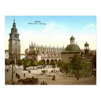 Vieille carte postale - Cracovie, Pologne
