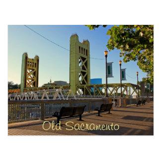 Vieille carte postale de Sacramento