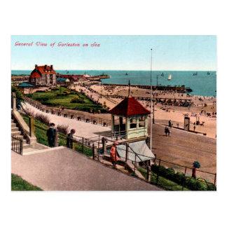 Vieille carte postale - Gorleston-sur-Mer, Norfolk