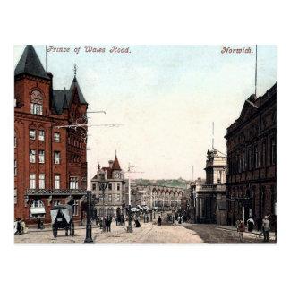 Vieille carte postale - Norwich, Norfolk