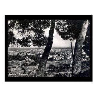 Vieille carte postale - Pescara, Italie