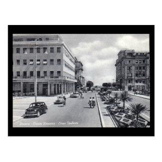 Vieille carte postale - Pescara, Piazza Renascita