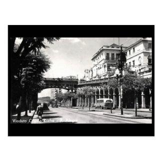 Vieille carte postale - Porto Alegre, Brésil