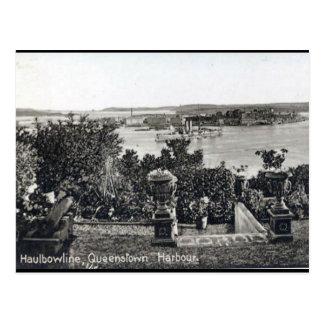 Vieille carte postale - Queenstown, liège de Co