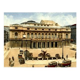 Vieille carte postale, Rome, dell'Opera de Teatro