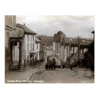 Vieille carte postale - Saltash, les Cornouailles