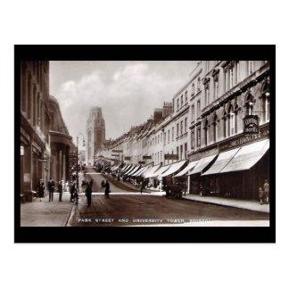 Vieille carte postale - St de parc, Bristol