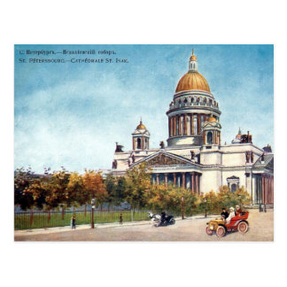 Vieille carte postale - St Petersburg, Russie