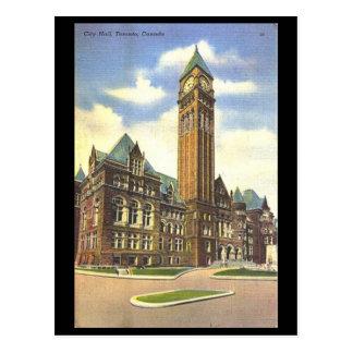 Vieille carte postale - ville hôtel, Toronto,