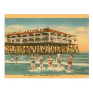 Vieille carte postale vintage de canalisation de