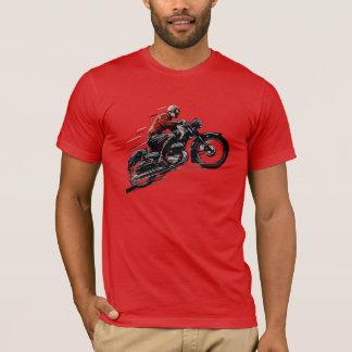 Vieille moto vintage t-shirt