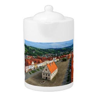 Vieille place dans Bardejov, Slovaquie