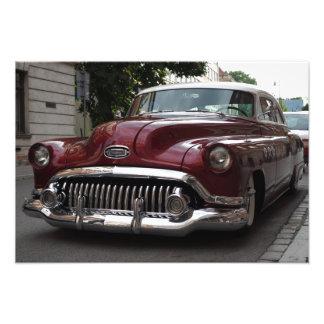 Vieille voiture vintage - photo