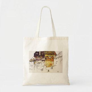 Vieilles Chambres d'Egon Schiele- dans Krumau Sac En Toile Budget