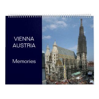 Vienne Autriche 24 calendriers de mois