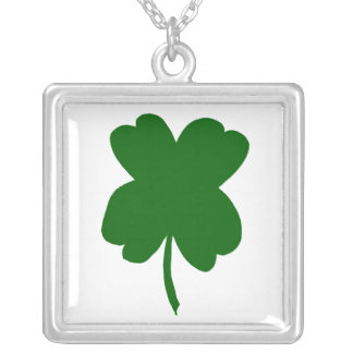 Vier bladklaver, groene klaver, St. Patrick Dag Persoonlijke Sieraden