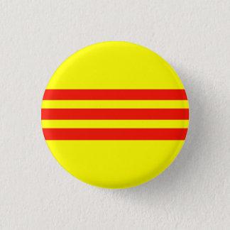 vietnameseflag badge rond 2,50 cm