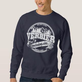 Vieux blanc de cercle de Verbier Sweatshirt