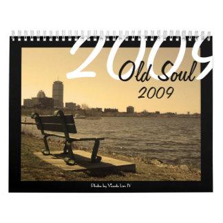 Vieux calendrier de l'âme 2009 (version