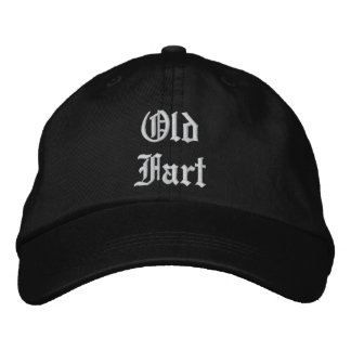 Vieux casquette de laine de pet -- noir
