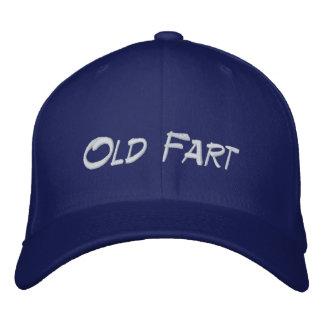 Vieux casquette de retraite de pet