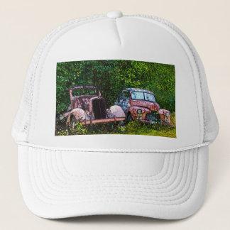 Vieux casquette de voitures