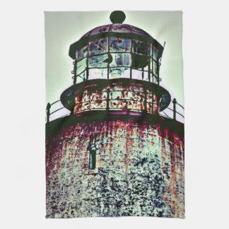Vieux phare linge de cuisine