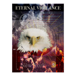 Vigilance éternelle poster