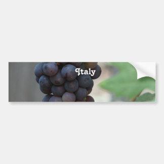 Vignoble en Italie Autocollant Pour Voiture