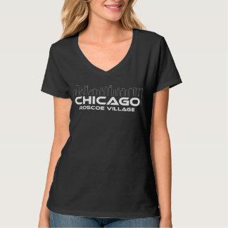 Village de Chicago Roscoe T-shirt