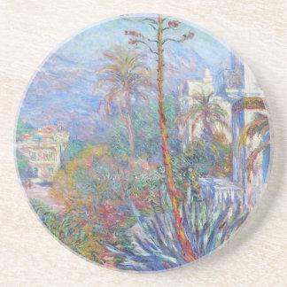 Villas chez Bordighera par Claude Monet Dessous De Verre