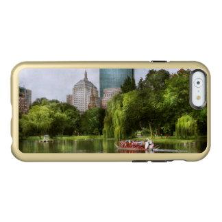 Ville - Boston mA - jardin public de Boston Coque iPhone 6 Incipio Feather® Shine
