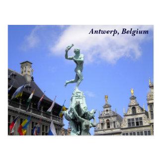 Ville d'Anvers Carte Postale