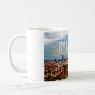 Ville de Barcelone Mug