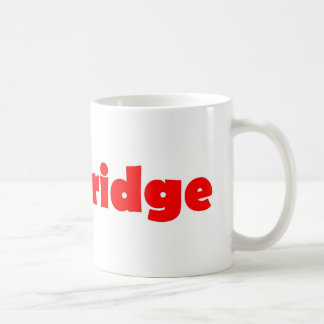 Ville de Cambridge de l'Angleterre Mug Blanc