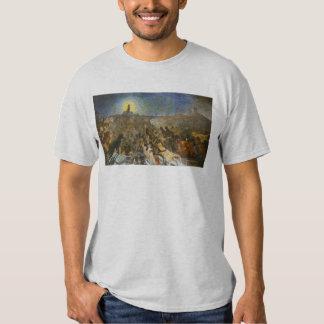 Ville de chat - illustration vintage par Théophile T Shirt