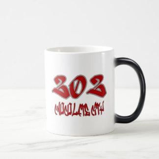 Ville de chocolat de représentant (202) mug magique
